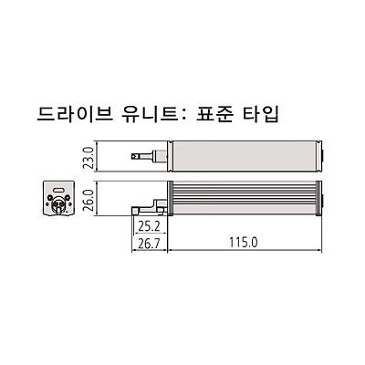 표면조도 측정기 드라이브 표준유니트